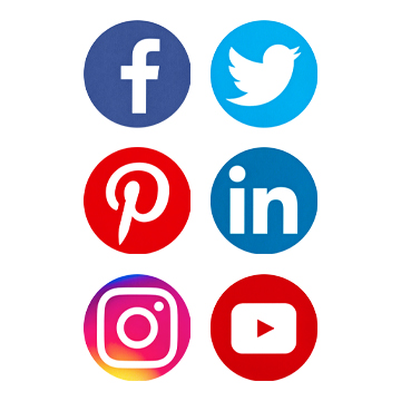 logos facebook twitter linkedin instagram pinterest youtube