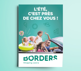Couverture d'un flyer.